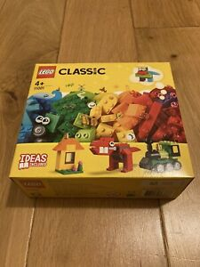 LEGO Classic 11001 - Bricks and Ideas 123 Pieces - Brand New & Sealed Ages 4+