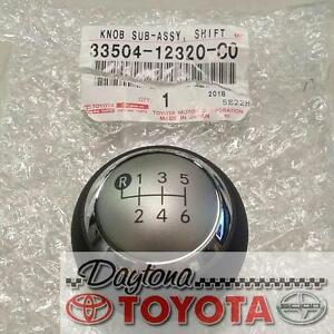 Genuine Toyota Scion 33504-12320-C2 Shift Lever Knob Sub 2011 - 2016 TC 6 SPEED