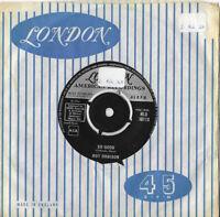 """ROY ORBISON * SO GOOD / MEMORIES * 7"""" SINGLE LONDON HLU 10113 PLAYS GREAT"""