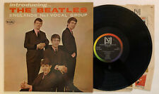 Introducing The Beatles - 1964 Vee-Jay Mono Rainbow Brackets / No Comma (EX)