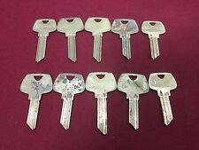 Sargent CG, CM & RJ 5 Pin & 6 PIn Key Blanks, Set of 10 - Locksmith