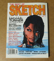 SKETCH MAGAZINE MICHAEL TURNER Fathom Witchblade Aspen Marc Silvestri David Mack