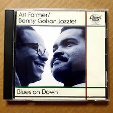 Blues on Down Art Farmer Benny Golson Jazztet CD 1994 Jazz CHESS GRP NO IFPI