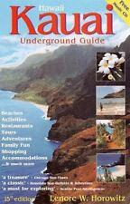 Kauai Underground Guide (Includes Free Hawaiian Music CD), Good Books