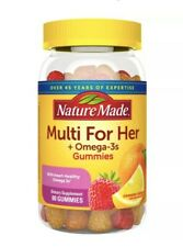 Nature Made For Her + Omega-3's Gummies - 80 Count