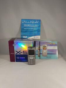 Sagem myX-5m Vodafone D2 Simlock Handy Infrarot klassisch Sammlung OVP RARITAT