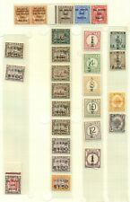 Japan, Neth Indies & others Wwii Ovpts and Locals and 4 covers, Vf, all shown