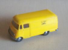 Vintage Wiking HO plastic 1960s 266 Mercedes L319 Post van
