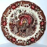 JOHNSON BROTHERS HIS MAJESTY DINNER PLATE NWOB