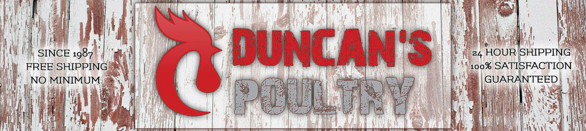 Duncan/'s Poultry 30 Lb High Capacity Chicken Wall  Feeder Hinged Lid Made in USA