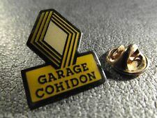 RARE PINS PIN'S - RENAULT - GARAGE COHIDON - VOITURE - MARQUE - CAR - LOGO