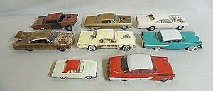 BIG LOT OF 1950`S & 1960`S AMT, MONOGRAM 1/25 CAR MODEL KIT + PROMO JUNKYARD!