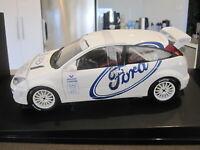 1:18 AUTOART 89912 1999 FORD FOCUS WRC TEST CAR WHITE  *NEW*
