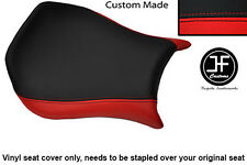RED & BLACK VINYL CUSTOM FITS DUCATI MONOPOSTO 748 916 996 998 SEAT COVER ONLY