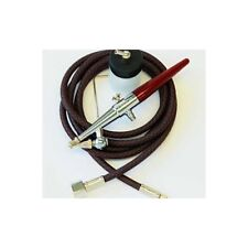 Paasche H-CARD #3 Single Action Siphon Feed Painting Airbrush with Hose & Bottle