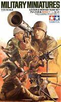 Tamiya 35086 U.S. Army Gun and Mortar Team 1/35 Scale Plastic Model Figures
