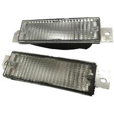 1pair White Front Bumper Corner Signal Light For BMW E30 M40 318i 320i 325i