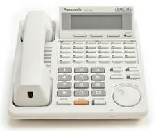Fully Refurbished Panasonic KX-T7433 Display Speakerphone (White)