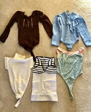 Lot Of 5 Spandex Ritchi/Tall/Corpo Bodysuits. XS.NWOT&Used