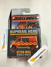 Renault Master Ambulance * Red/Yellow * Supreme Hero 2015 Matchbox * NA21