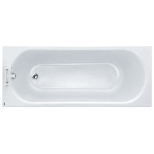 Twyford Opal Bath, 2 Tap Holes, No Grips & Tread - 1700 x 700mm(Collection Only)