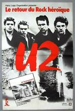 U2 – mega rare original 1984 French ISLAND RECORDS Phonogram promo poster *HUGE*