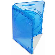 50 x Amaray ORIGINALE Triplo BLU RAY caso con doppio Vassoio da 14 mm SPINE-confezione da 50