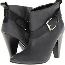 new GUESS gw CAROLYN women's BOOTS sz 8 dark gray leather booties