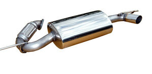 Smart Car Exhaust Muffler Quiet Performance Stainless Steel By Solo Performance