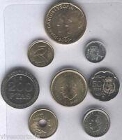 España Juan Carlos 1º 2000  Año completo 8 valores  SIN CIRCULAR