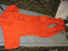 medium coveralls orange military VET MED MRICO APG-EA research soldiers medical