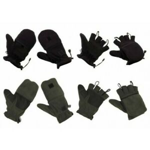 Polaire Faust Gants Mitaines Gants D'Hiver 2 IN 1 Neuf