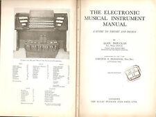 The Electronic Musical Instrument Manual - Pitman 1968 Hammond - Wurlitzer
