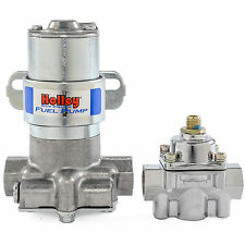 NO TAX Holley 12-802-1 Blue Max Pressure Electric Fuel Pump & Pressure Regulator