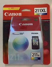 Canon CL-211XL Color Ink Printer Cartridge Genuine Authentic OEM Sealed