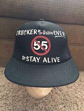 Funny Trucking Speed Limit Mesh Snapback Baseball Cap Trucker Hat Retro Vintage