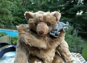 Antique Style Mohair Artist Bear Purse Backpack by Lynn Gatto Limerick Bears