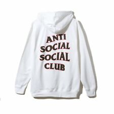 041c182a9e5b Anti Social Social Club Rodeo Dr. White Zip Hoodie Small S ASSC SOLD OUT IN