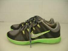 Nike Womens 9 M Sneakers Running Shoes Lunar Allways + TR 487793-005 Gray Green