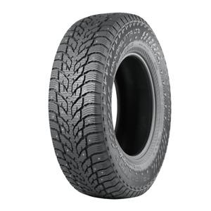 LT285/70R17 D 121/118Q Nokian Hakkapeliitta LT3 Studded Winter Truck Tire