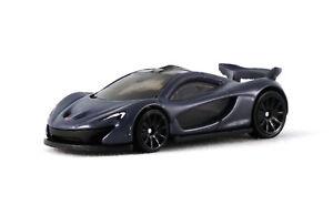 1:64 Hot Wheels Grey McLaren P1 Kids Model Diecast Toy Cars HW Exotics GHF48 New