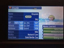 Pokemon Sun Moon 6IV Event TRU Shaymin Pokemon Guide with Gold Bottle Cap