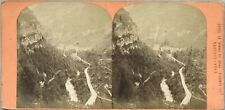 Eaux-Chaudes Photo Stereo Vintage Albumine