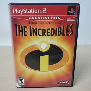 The Incredibles Greatest Hits - Sony PS2 PlayStation 2 Game With Case Manual
