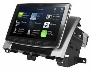 """ALPINE 9"""" Bluetooth CaprPlay Android HD Receiver For 2014-2019 Toyota Tundra"""