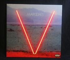 Maroon 5 V Red Vinyl B0023435-01 2015 Pop Rock Vg