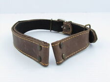 Laco Aviator Luftwaffe Pilots WWII Russian 26mm Knee-Guard Leather Watchband EXC
