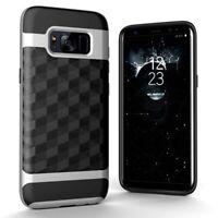 Samsung Galaxy S8 Plus Funda Estuche Móvil Protector Plata De