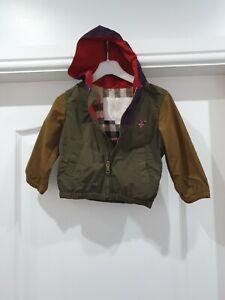 Burberry baby Coat age 12 mths boys baby