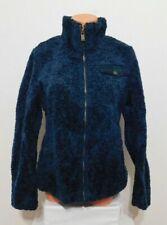 Pendleton Woman's Plush Coat Full Zipper Size XL Dark Blue NEW
